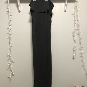 Tobi Long Black Dress